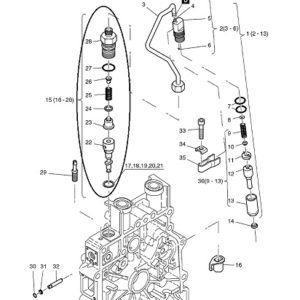 Einspritzpumpe Hatz 1B20