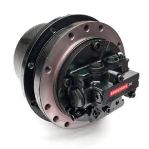 Fahrantrieb, Fahrmotor, Fahrgetriebe Kobelco SK15, PE15V00004F1, PU15V00006F1, PU15V00007F1.