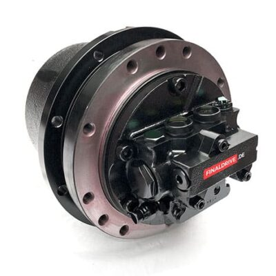 Fahrantrieb, Endantrieb, Fahrmotor Kobelco SK135 Bagger, 2441U994F2, 2441U994F3, YX15V00003F1.