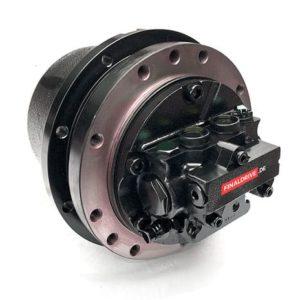 Fahrantrieb, Fahrmotor, Fahrgetriebe Hitachi EX60