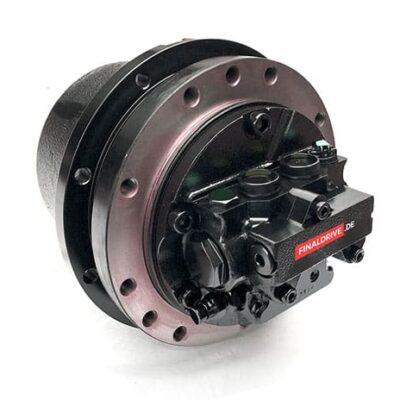 Fahrantrieb, Fahrmotor, Fahrgetriebe Bobcat 231, Bobcat X231, 6670667
